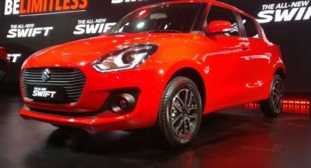 Auto Expo 2018: Prices For The All-new Maruti Swift Start At 4.99 Lakh