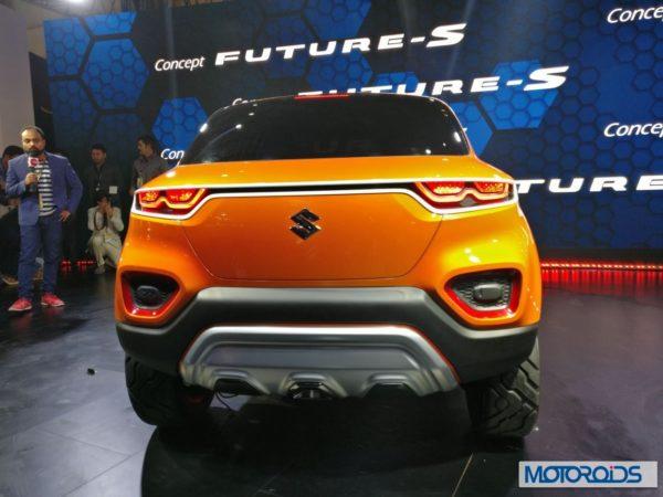 Maruti Suzuki Future S Concept Rear taillights