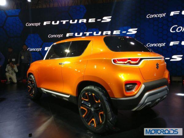 Maruti Suzuki Future S Concept Rear view