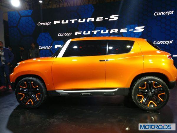 Maruti Suzuki Future S Concept Side Profile