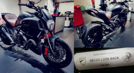 Diavel diesel collage