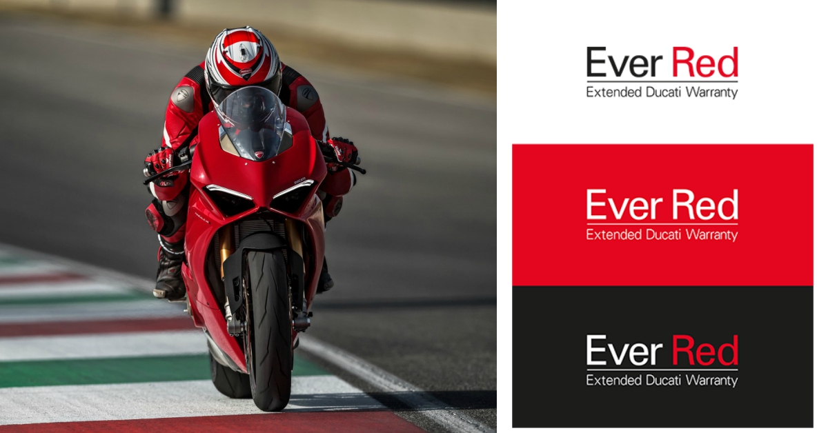 Ducati Ever Red Extended Warranty