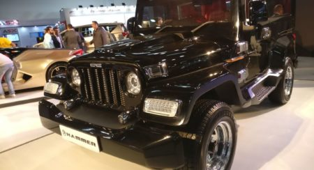 Auto Expo 2018: DC Hammer Is Another Thar Gone Wild; Costs INR 5.95 Lakh