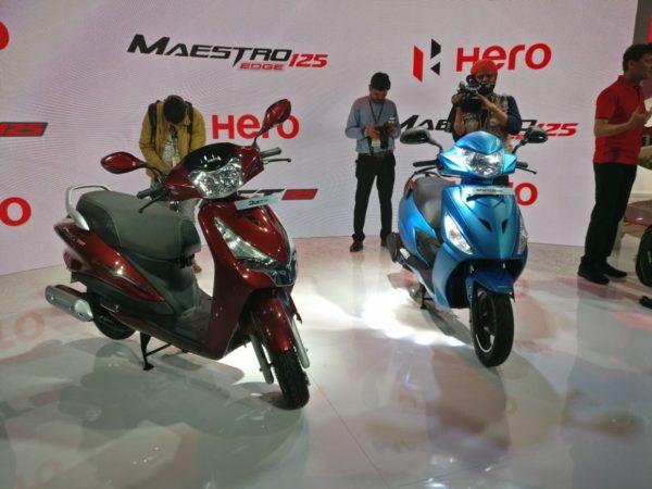 Hero MotoCorp Duet 125 – Auto Expo 125 (10)