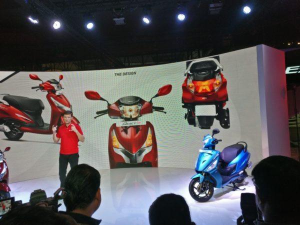 Hero MotoCorp Duet 125 – Auto Expo 125 (2)