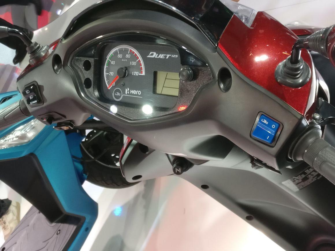Hero MotoCorp Duet 125 – Auto Expo 125 (9)
