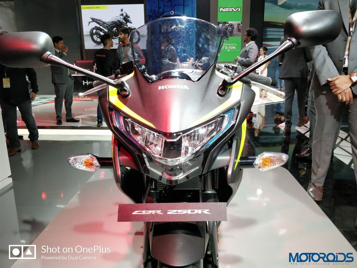 Auto Expo 2018 New Honda Cbr250r Unveiled Features Led Headlight
