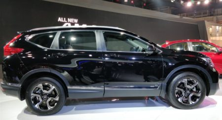 Auto Expo 2018: Covers Come Off The New Honda CR-V Diesel