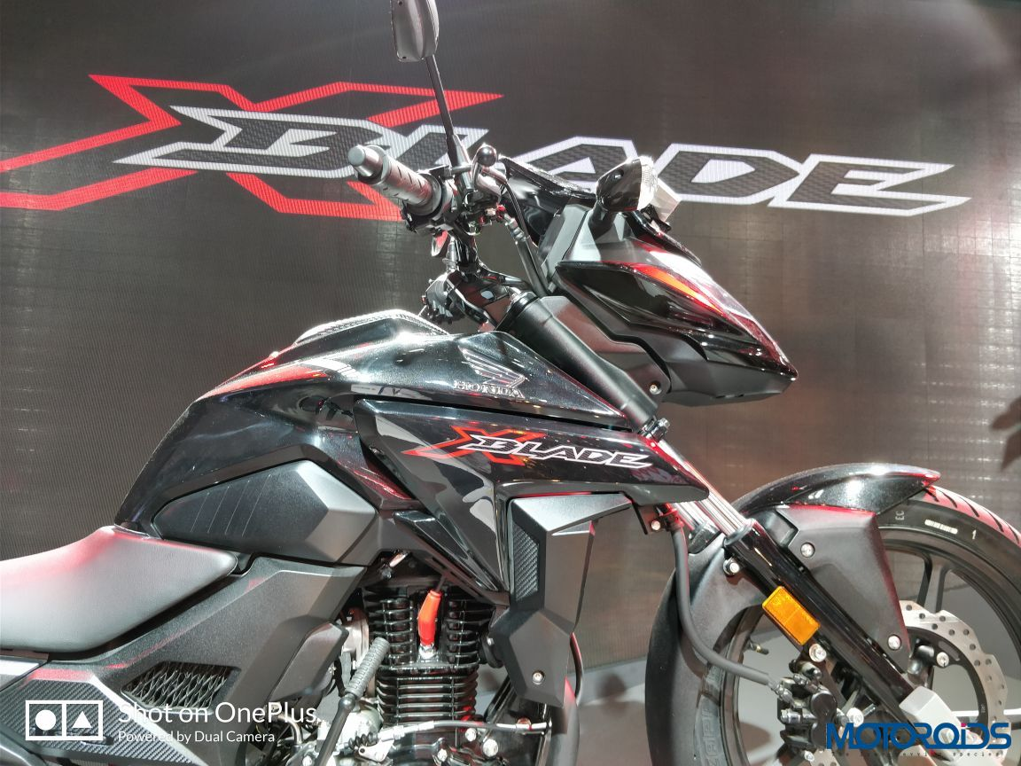 Honda X Blade Auto Expo 2018 Motoroids