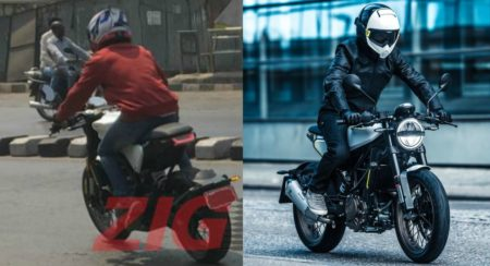 Husqvarna Svartpilen 401 And Vitpilen 401 Spied In India - Feature Image
