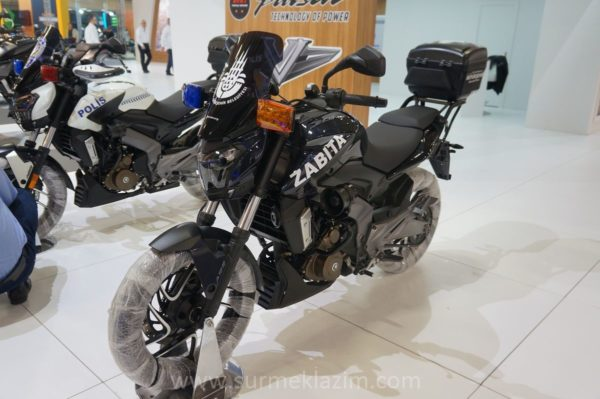 Istanbul Metropolitan Municipality and Police Department To Use Bajaj Dominar 400 (1)