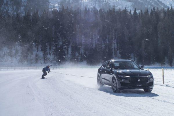 Jamie Barrow and Maserati Levante – World Speed Record (2)