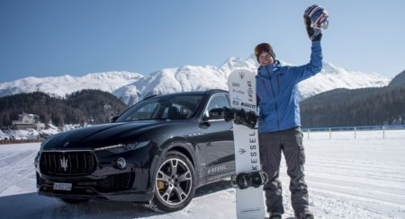 Jamie Barrow and Maserati Levante - World Speed Record (3)