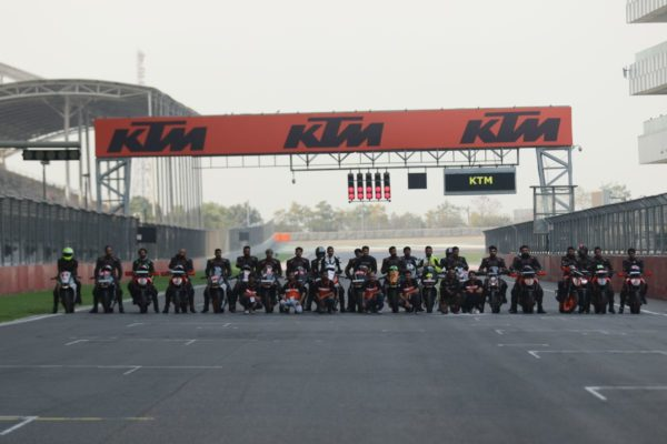 KTM Organizes Track Day At Buddh International Circuit (3)
