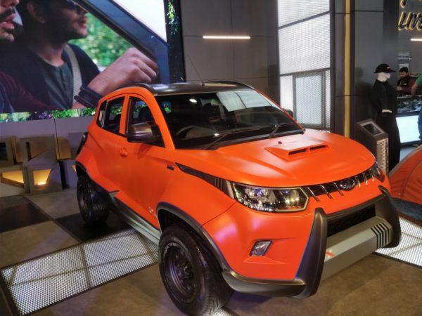 Mahindra-KUV100-Xtreme-front-3-quarters-600x450