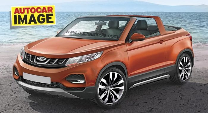 Mahindra S Swanky Convertible Suv Will Be Their