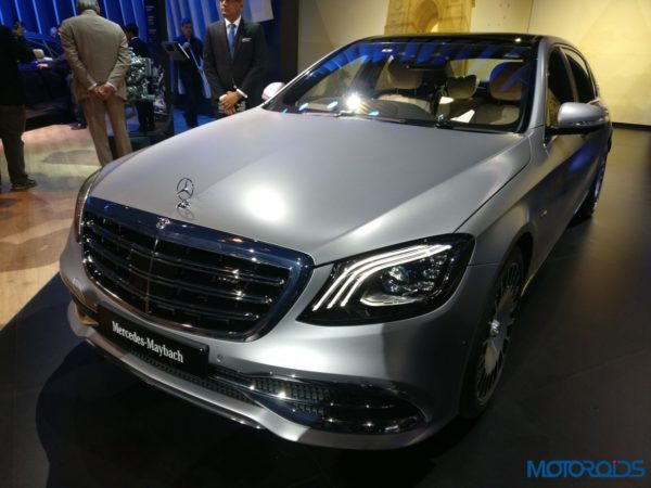 Mercedes-Maybach S 650 Arrives At The Auto Expo 2018; Your's For INR 2.73 Crore