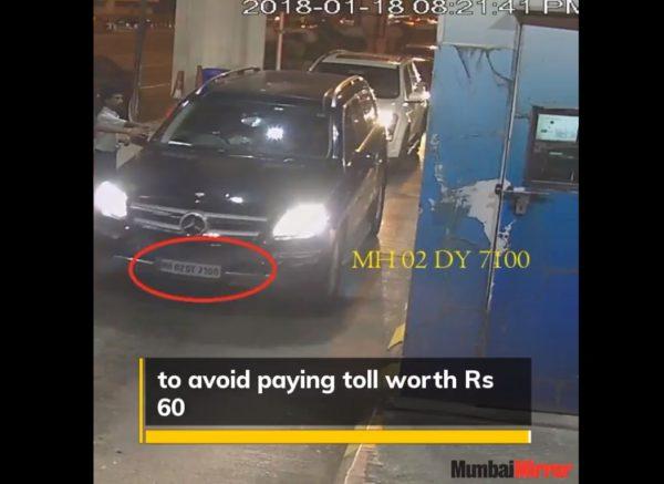 Mercedes-SUV-Bandra-Worli-Sealink-Fake-Pass-2-600x437