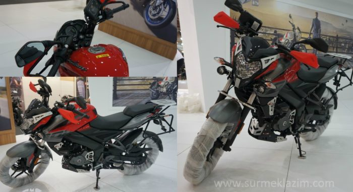 Modified Bajaj Pulsar NS200 Adventure Edition Showcased In