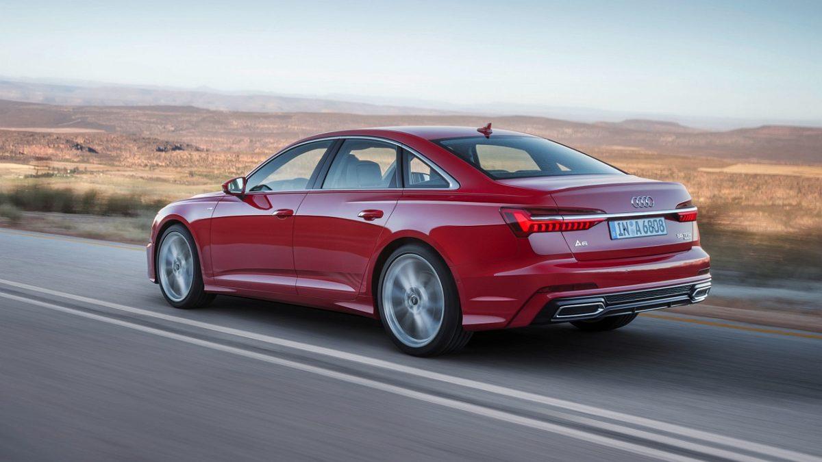 New 2018 Audi A6 rear (2)