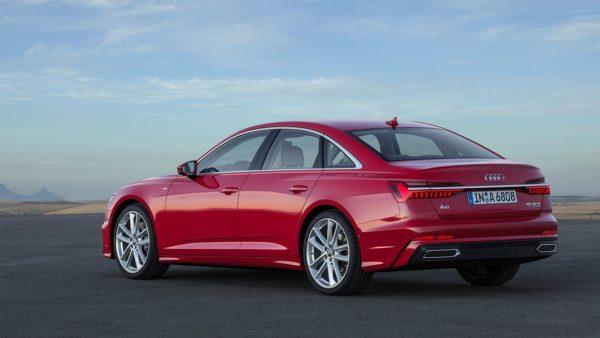 New 2018 Audi A6 rear (3)