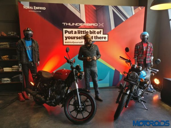 New 2018 Royal Enfield Thunderbird 350X and 500X India Launch (37)