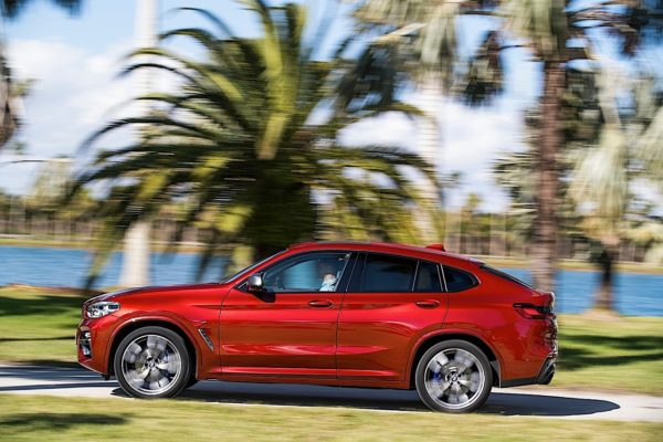 New BMW X4 M side