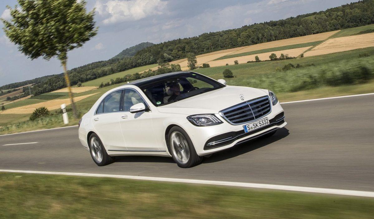 Mercedes Benz S Klasse, S 560, W222, 2017/ PFV S Klasse Zuerich 2017