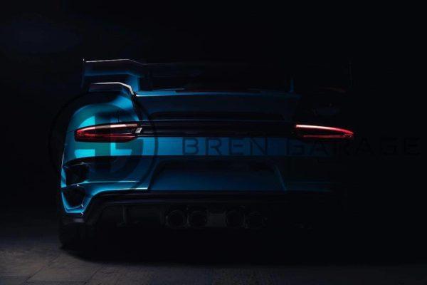 Porshce 911 Turbo S TechArt GT Street R rear