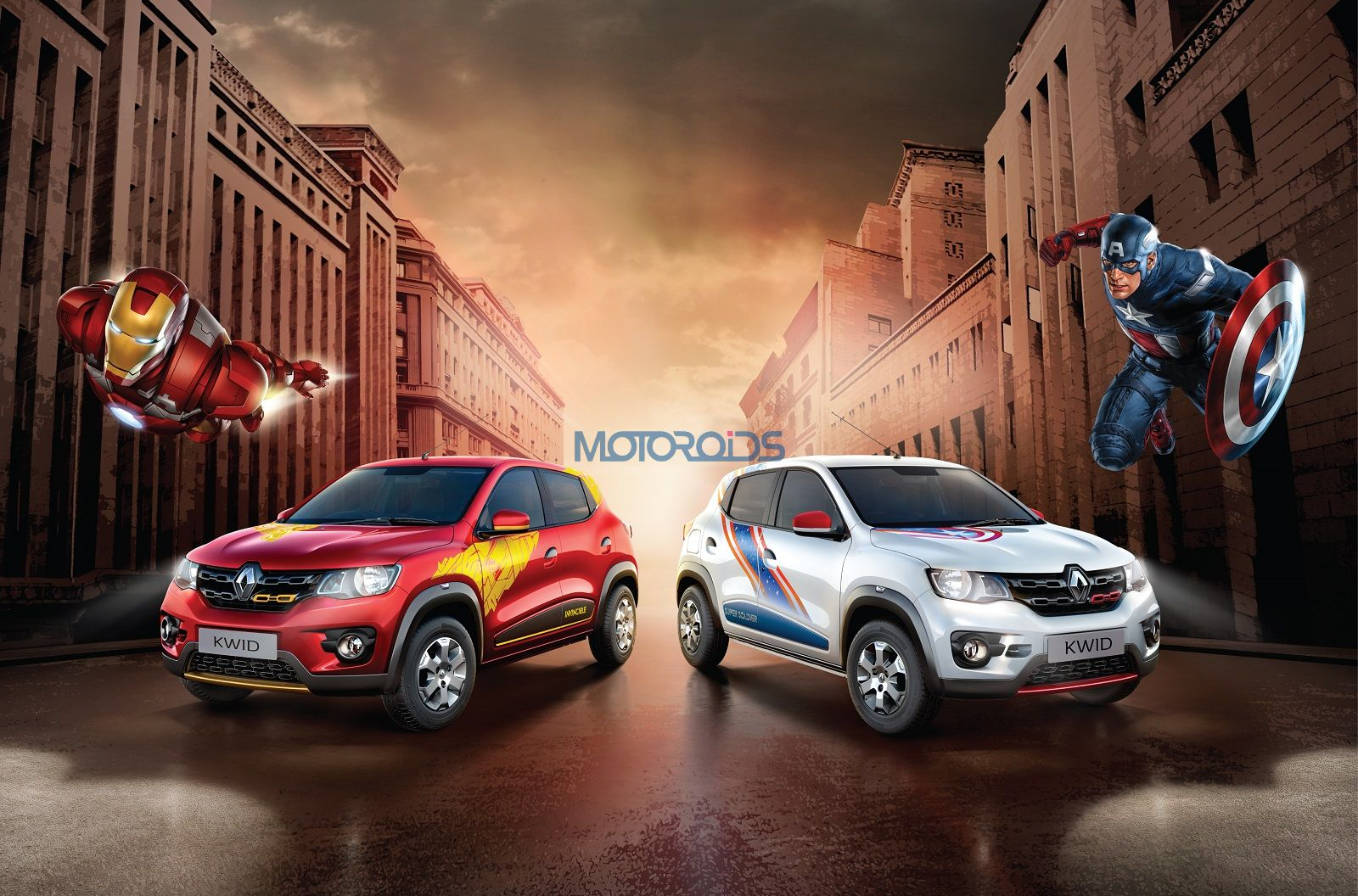 Inspired By Marvel S Avengers Renault Kwid Super Hero Edition Launched In India Motoroids