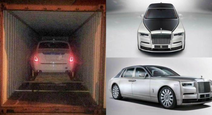 India's First 2018 Rolls-Royce Phantom Lands In Chennai ...