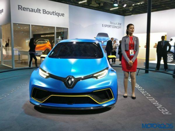 Renault ZOE ESport Concept001