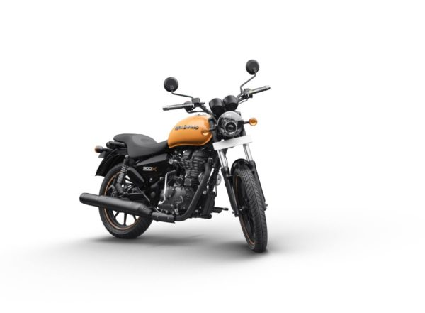 Royal Enfield Thunderbird X – Getaway Orange (2)