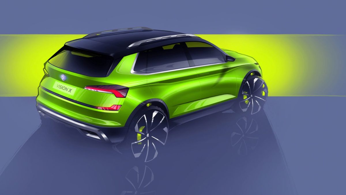 Skoda Vision X Crossover – Sketches (2)