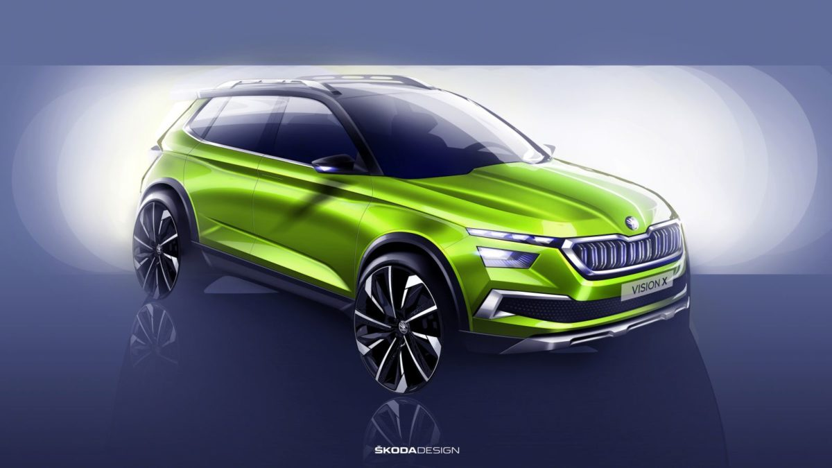 Skoda Vision X Crossover – Sketches (3)