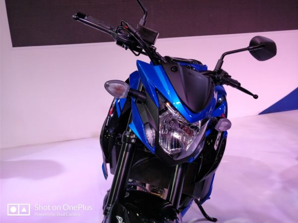 Suzuki GSX S750 At Auto Expo 2018 (6)