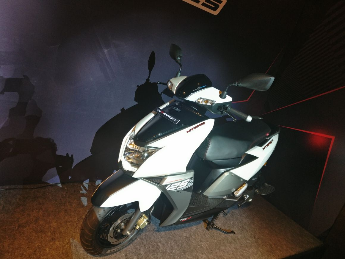 Tvs Ntorq 125 Official Release Images Price Tech Specs And All