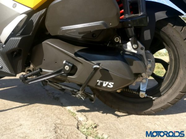 TVS NTORQ 125 - Back Wheel