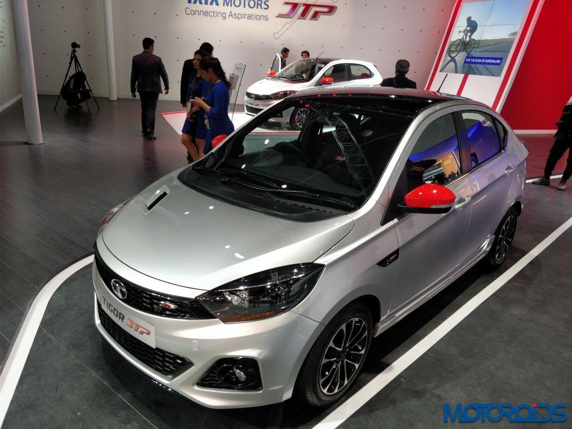 Tata Tigor Jtp Auto Expo 2018 Motoroids