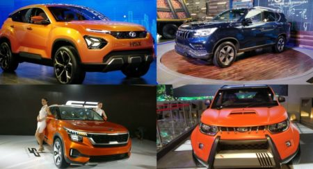 Top 5 SUVs At The Auto Expo 2018