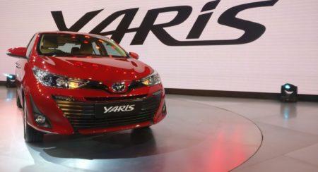 Auto Expo 2018: India-Spec Toyota Yaris Mid-Size Sedan Unveiled