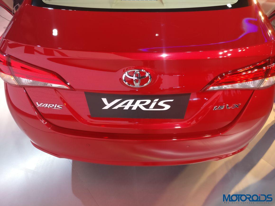 Auto Expo 2018: India-Spec Toyota Yaris Mid-Size Sedan