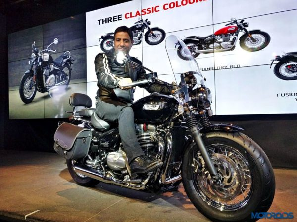 Triumph Bonneville Speedmaster India Launch (9)