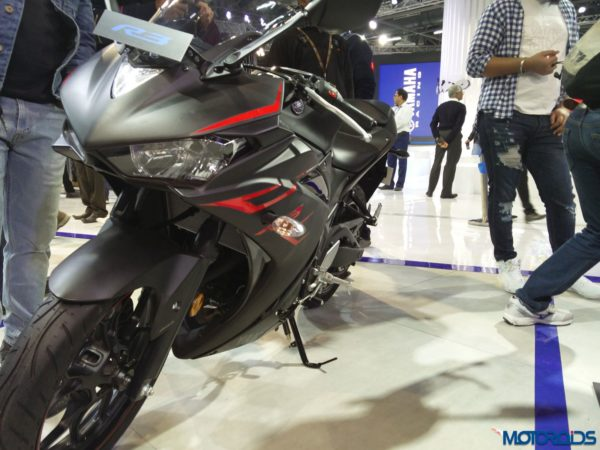 Yamaha YZF R3 At Auto Expo 2018 (11)