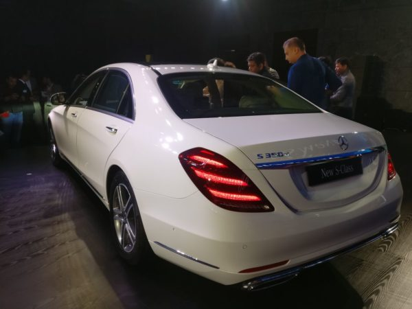 new 2018 Mercedes S Class Facelift India rear