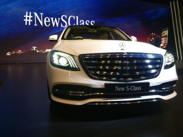 new 2018 Mercedes S Class Facelift radiator grille