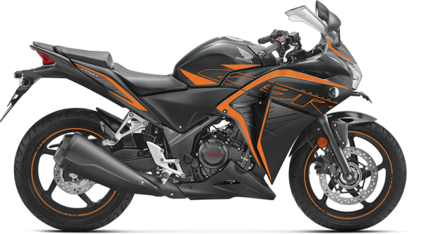 2018 Honda CBR 250R Matte Axis Gray Metallic with Mars Orange