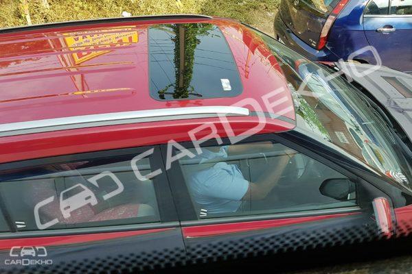 2018 Hyundai Creta facelift spied with sunroof 2