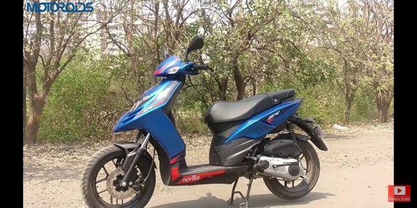 Aprilia SR125 India front