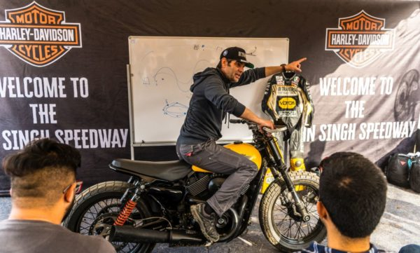 Harley Davidson – Flat Track Racing in India (2)